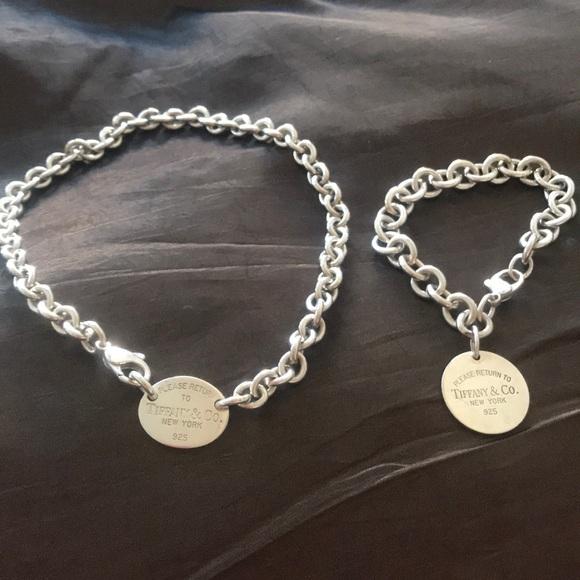 5b027b30f Tiffany & Co. Jewelry | Return To Tiffanys Necklace Bracelet | Poshmark
